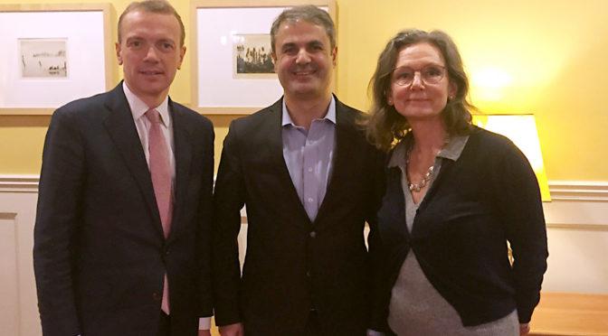 WindEurope visits Sweden's Energy Minister