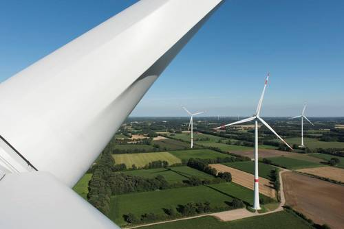 Germany wind energy reach record high in 2017