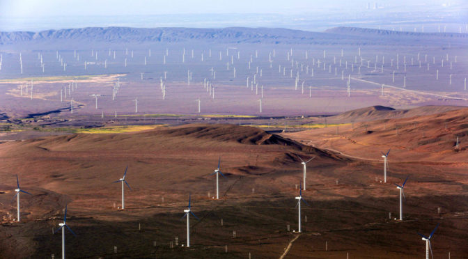 China announces plans for world's biggest wind farm on Mongolian border