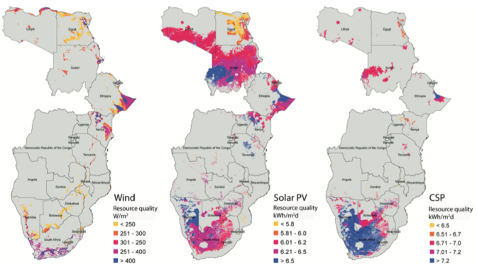 Interconnection is essential for the development of wind energy and solar power in Africa