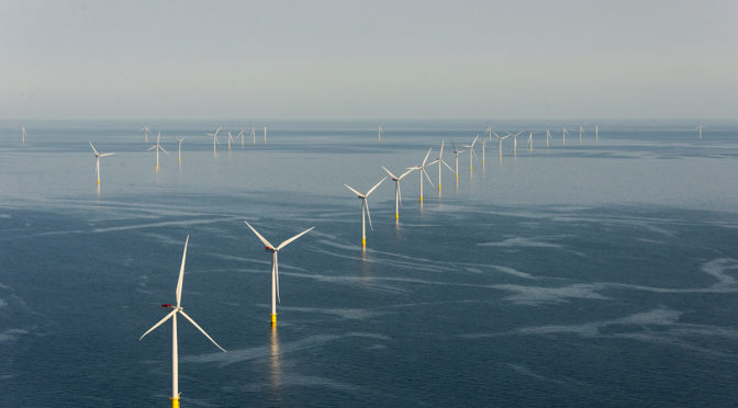 Rapid construction progress on Arkona offshore wind energy project in the Baltic Sea