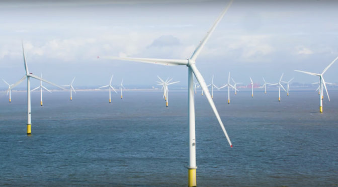 UK switches on the world's largest offshore wind turbines