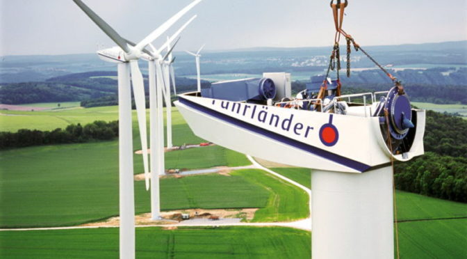 Fuhrlander wind power project in Ukraine
