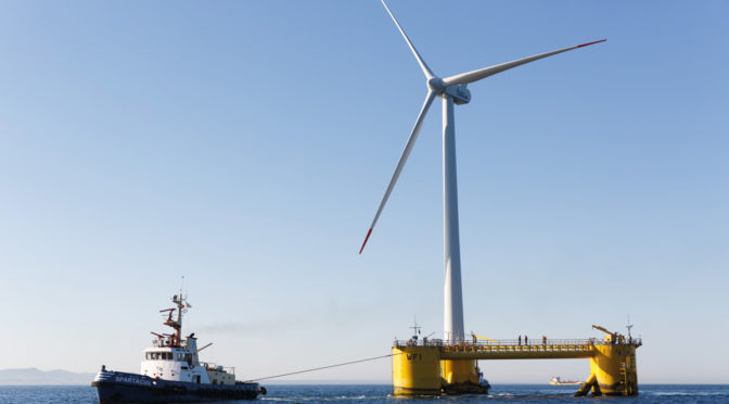 Floating offshore wind energy comes of age with break-through pipeline of projects