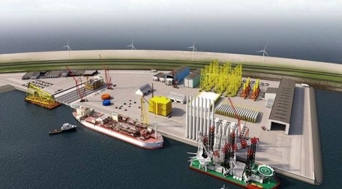 Rotterdam To Develop Offshore Wind Energy Center