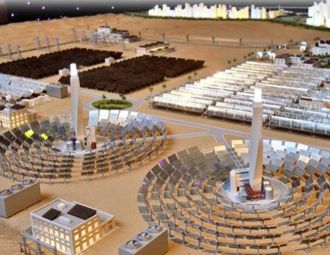 Siemens provides four steam turbines to Concentrated Solar Power plant in Dubai