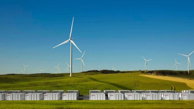 Tesla 100 MW battery system will be installed at Hornsdale wind farm in South Australia