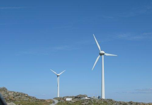Norwegian island runs on wind energy