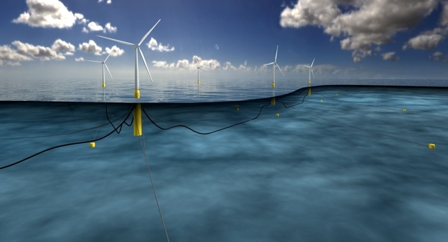 First commercial floating offshore wind farm nears completion