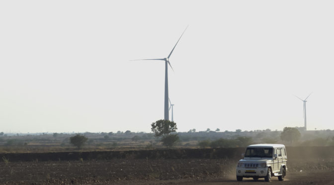Acciona Energía has put the 78-MW capacity Bannur wind farm into service in India