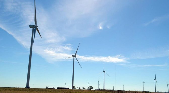 Round 3 of the RenovAr, the first day of Argentina Wind Power finished today
