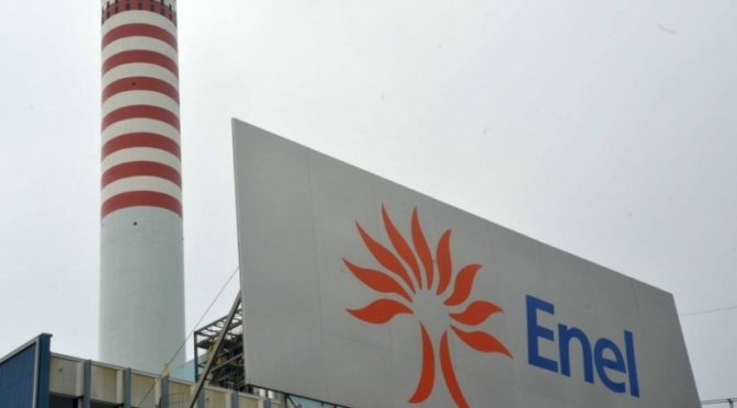 Enel signs with Angloamerican in chile group's largest renewable energy supply deal