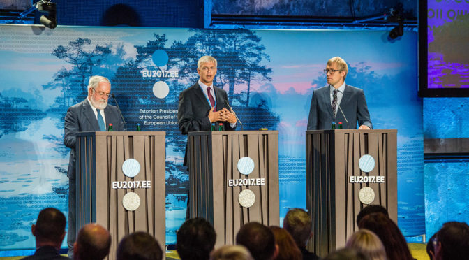 Debating the future of Europe's electricity markets in Tallinn