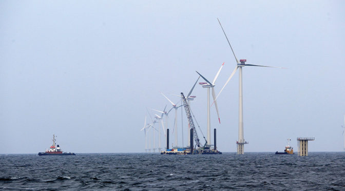 UK offshore wind energy reaches price parity with fossil fuels