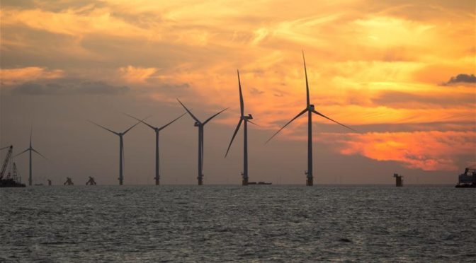 China's Jiangsu province approves 6.7 GW offshore wind farm projects