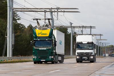 Siemens builds eHighway in Germany