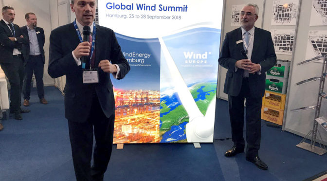 Global Wind Energy Summit in Hamburg in one year