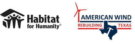 American wind industry companies pledge $1 million as keystone partners of Habitat for Humanity's post-Harvey recovery work