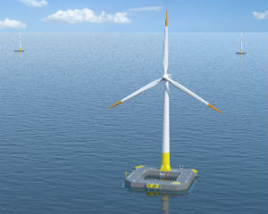 Floating offshore wind turbine inaugurated in France