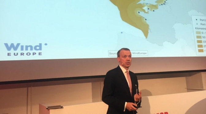 WindEurope CEO Giles Dickson addresses the importance of Offshore Wind Ports