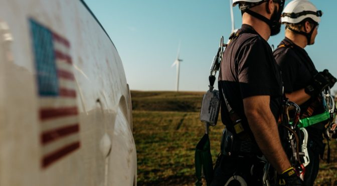 Highlights from the Wind Energy Powers American Business report