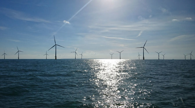 France launches its first offshore wind power project