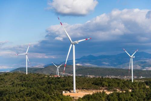 Wind energy in Turkey: Nordex wind turbines for a wind farm