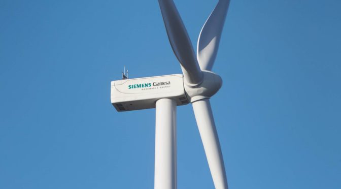 Wind energy in Denmark, Siemens Gamesa wind turbines debuts