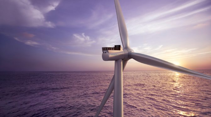 Iberdrola connects its East Anglia One offshore wind energy farm