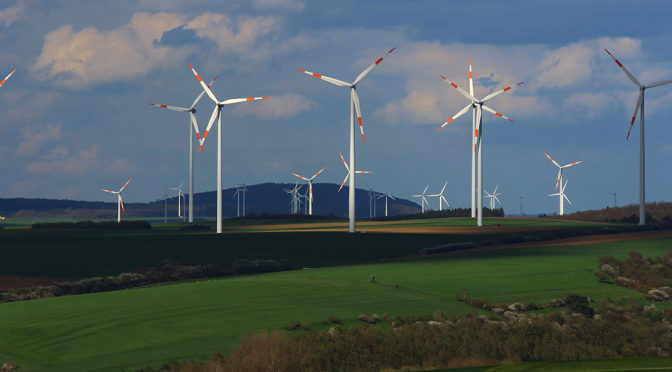 German wind power output hits new record above 42 GW