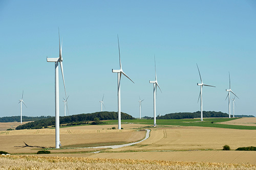 Commercial commissioning of the Inter Deux Bos wind farm in France