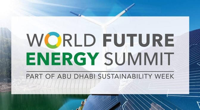 WindEurope focus on opportunities for renewables at World Future Energy Summit in Abu Dhabi