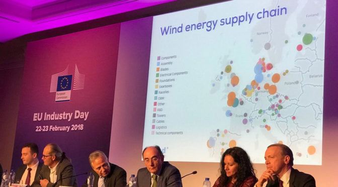 WindEurope CEO addresses the economic benefits of deploying wind energy at EU Industry Day