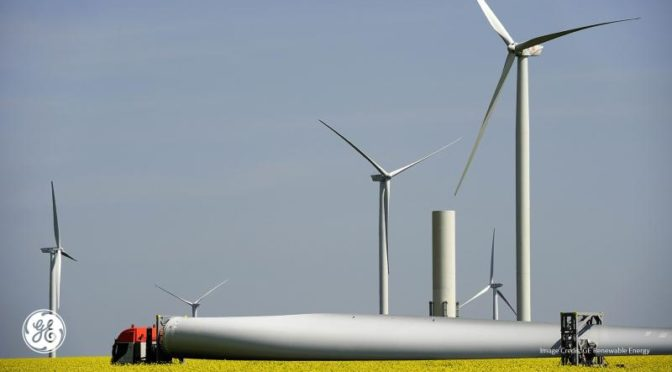 GE's Enhanced 2 MW-127 Turbine Selected for 2.9 Gigawatts of Projects in North America