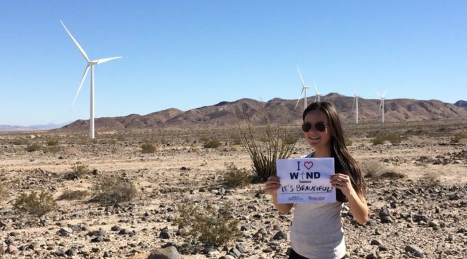 #iheartwind is back: Tell us why you love wind power