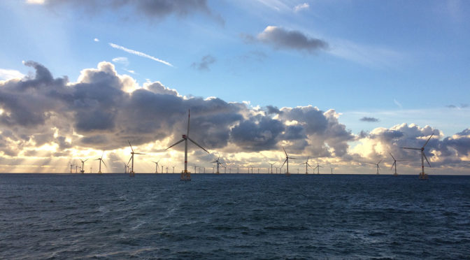 Offshore wind farm could beat onshore wind turbines on cost