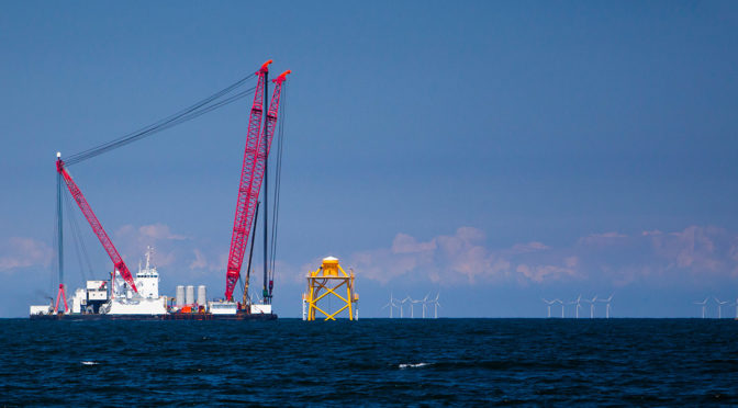 Aeolus starts work on Belgium's largest offshore wind farm