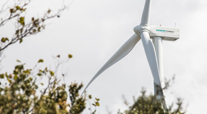 Siemens Gamesa selected to supply 225 MW for U.S. wind power project