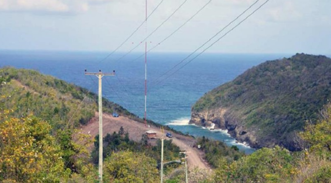 Saint Lucia`s first wind farm