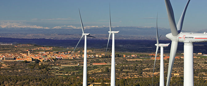 Acciona, the biggest retailer of 100% renewable energy in the Spanish market