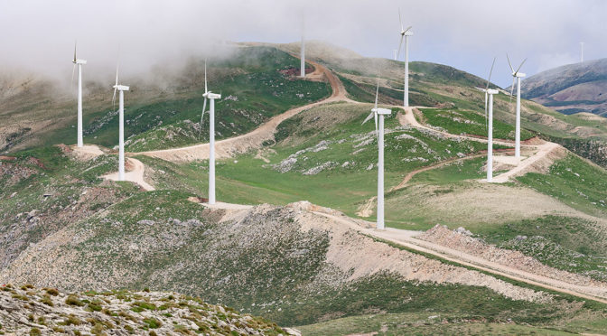 Wind energy in Greece: 102 MW wind turbine contract awarded