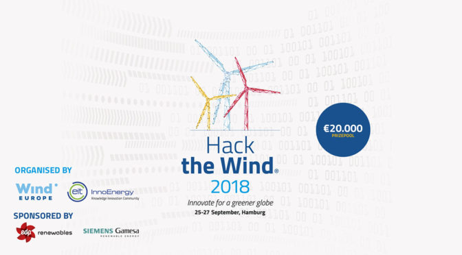 InnoEnergy's 'Hack the Wind' to return to WindEurope Conference