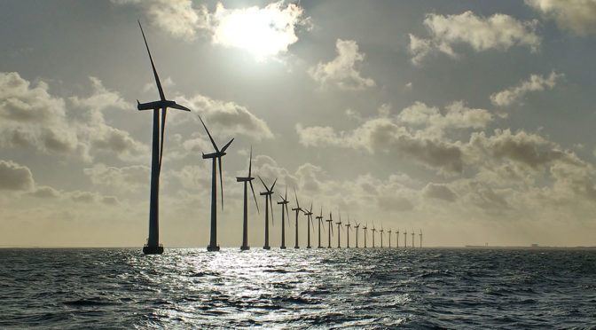 Offshore wind farm Arkona feeds first power into the grid