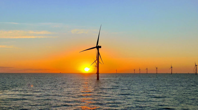 TÜV SÜD undertakes inspections for E.ON wind farms in the North Sea and Baltic Sea