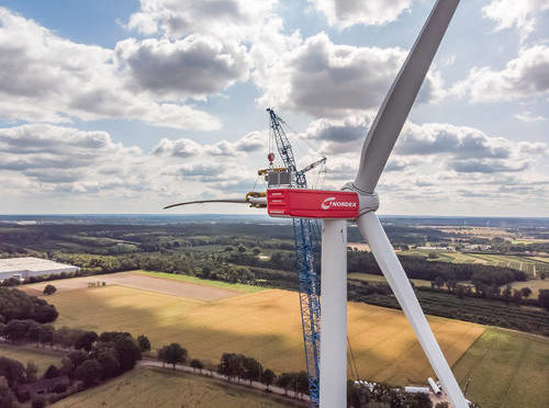 "Nordex extending Dutch wind farm ""Wieringermeer"" for Vattenfall with 32 N117/3600 wind turbines"