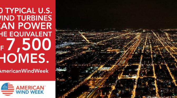 New York celebrates #AmericanWindWeek
