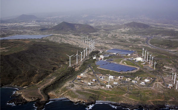 Canary Islands triples the generation with wind power since 2017