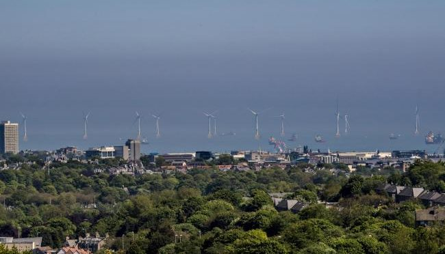 Wind power plant opposed by Donald Trump being officially opened off Aberdeen coast