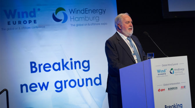 World's biggest wind energy event kicks off in Hamburg