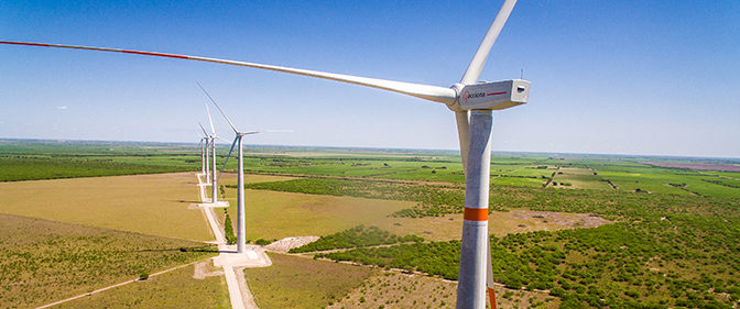 Wind energy in Tamaulipas, install two wind farms